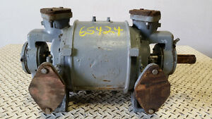 Nash Cl205 2 5 Liquid Ring Vacuum Pump In Ductile Iron 150cfm 25 Hg