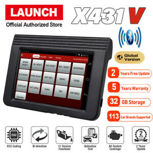 Launch X431 V 8 Inch Obd2 Scanpad Full System Multi language Diagnostic Scanner