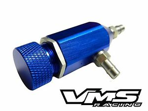 Vms Racing Pro Series Adjustable Manual Turbo Boost Controller Blue