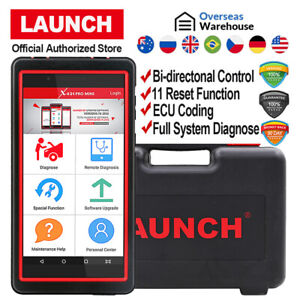 Obd2 Diagnostic Scanner All System Abs Airbag Srs Oil Reset Launch X431 Pro Mini
