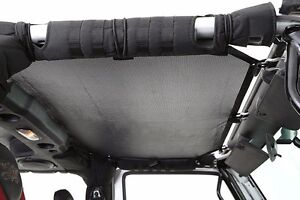 Smittybilt Cloak Extended Mesh Shade Screen Top For 1997 2006 Jeep Wrangler Tj