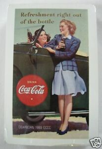 Coca Cola Playing Cards -1993 Dearborn  MI.- Sealed