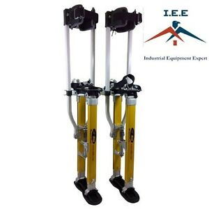 Surpro S2 Interlok dually Magnesium Drywall Stilts 18 30 In sur s2 1830mp