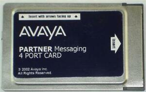 Avaya Partner Messaging 700262462 4 Port License Pc Card