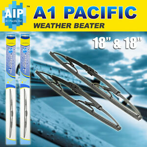 Metal Frame Windshield Wiper Blades J Hook Oem Quality 18 Inch Ford Truck Chevy