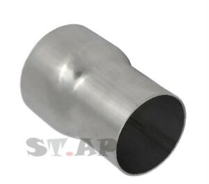 2 To 2 5 Inch Stainless Steel Reducer Pipe Coupler Adapter Weld Turbo Polish