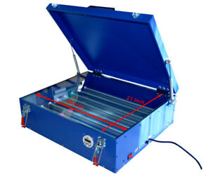 21 x 25 Screen Printing Exposure Unit Led Light Plate Curing Machine With Cover