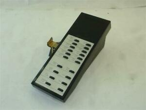 Rolm 600 Kbd Exp Black 20 Button Expansion Module Module