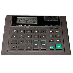 Talking Desk Top Calculator For Low Vision Lcd Math Office School Speaking