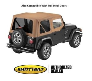 Smittybilt Tinted Oem Replacement Top And Door Skins For 1997 2006 Jeep Wrangler