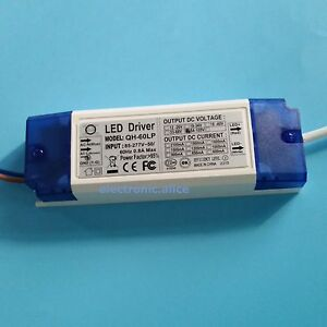 5 Pcs 18 30x3w Led Driver Power Supply 600ma For 30pcs 3w High Power Led Chip