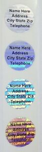 1000 Customized 3 4 Tamper Evident Hologram Svag Labels Stickers Security Seals