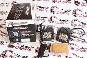 Rigid Industries D Series Pro Flood Led Light Set 202113 W Free Amber Covers