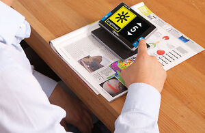 Optelec Compact 5 Hd Portable Video Magnifier 3 Hrs Of Battery Use