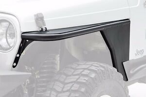 Smittybilt Xrc Armor Replacement Front Tube Fenders 1976 1986 Jeep Cj 7 76866