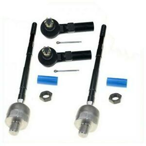 Outer Inner Front Suspension Tie Rod Ends For 2003 2008 Nissan Maxima