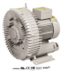 Pacific Regenerative Blower Pb 900 hrb 900 Ring Vacuum And Pressure Blower