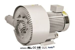 Pacific Regenerative Blower Pb 802 hrb 802 Ring Vacuum And Pressure Blower