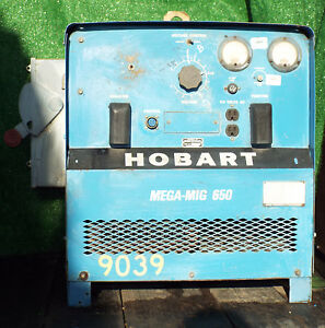 1 Used Hobart Rcvs 650 Mega mig 650 Welder make Offer