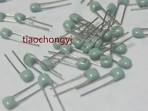 Dip Multilayer Ceramic Capacitor Green X7r 100nf 0 1uf 104 50v 10 2 54mm 5000pc