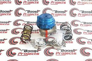 Tial Mv R 44mm Authentic Wastegate Blue With V Band Flanges All Springs 002948