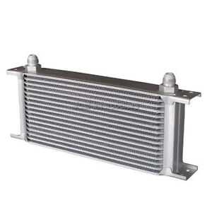Cx Universal 16 Row An8 Transmission Engine Oil Cooler For 240sx S13 S14 S15