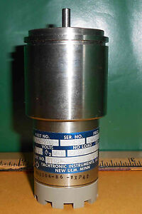 18tgsm245 1 Tachtronic Instruments Tacho Motor 8400 Rpm 115v 400hz New Old Stock
