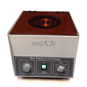 80 2 Electric Centrifuge Professional Desktop Lab Centrifuge 4000rpm 20ml 12