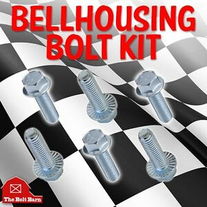 1964 88 Gm Chevrolet Chevy Transmission Bell Housing To Engine Bolts Kit A106