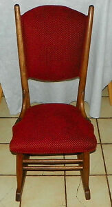 Quartersawn Oak Sewing Rocker Rocking Chair R200