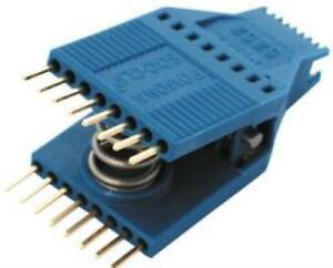 Pomona 5252 Ic Test Clip Soj Soic 16 Contacts Gold Plated Contacts