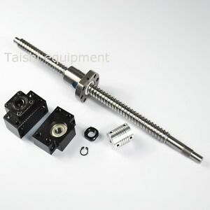 1pc Rm2005 600mm c7 Anti Backlash Ballscrew End Machined 1 Bk bf15 coupler