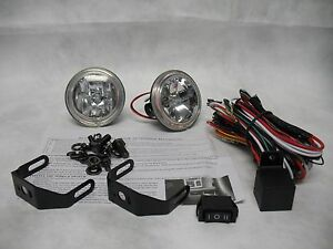 Blinglights 3 Inch Round Xtra 35 Watt Fog Light Driving Lamp Kit Non Halo Model