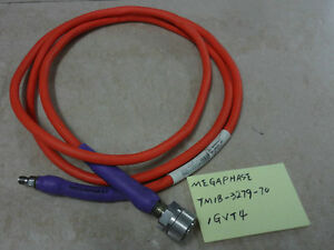 Megaphase Tm18 3279 70 1gvt4 1 7m Rf Microwave Coaxial Cable