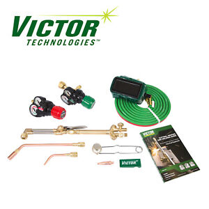 0384 2125 Victor Performer Torch Kit Set With Regulators Replaces 0384 2045