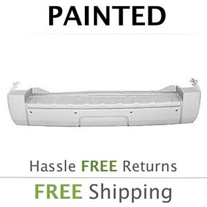 New Fits 2006 2007 2008 Jeep Commander W O Hitch Rear Bumper Cover Painted