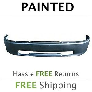 New 2009 2010 2011 2012 Dodge Ram Truck W ofog Front Bumper Cover Painted