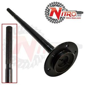 Nitro Rear Chromoly Cut To Length Axle Shaft Toyota 8 8 4 Tacoma 4runner Prado