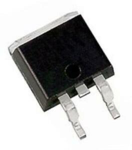 10x Vishay Siliconix Sihb12n60e ge3 Mosfet N Channel 600v 12a To 263 3