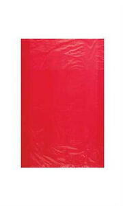 Count Of 1000 Retail Small Red High density Plastic Merchandise Bag 8 1