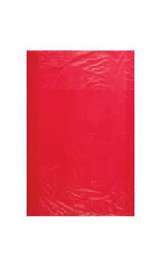 Count Of 1000 Retail Small Red High density Plastic Merchandise Bag 8 1 2 X 11