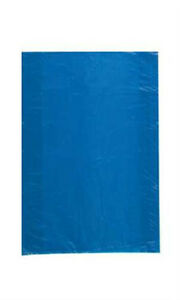 Count Of 1000 Retail Small Blue High density Plastic Merchandise Bag 8 X 11