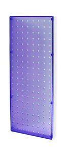 Blue Molded Plastic Pegboard Wall Panels 8 W X 20 H Inches Lot Of 2