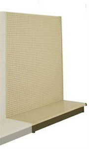 New Retails Metal Shelving Gondola Add on Aisle Units 60 h X 48 l X 36 w