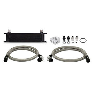 Mishimoto Performance 10 Ten Row Racing Oil Cooler Kit With Lines Universal