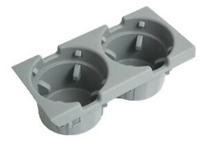 Genuine Bmw 3 Series E46 Gray Cup Holder 51168248504 New