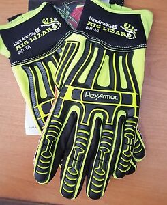 Hexarmor Rig Lizard Gloves Size 9 large Brand New