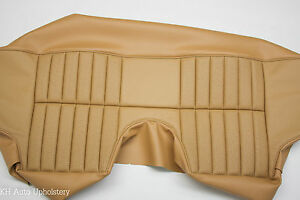 New Jaguar Xke E type 2 2 Series 2 Series 3 Leather Rear Seat Cover