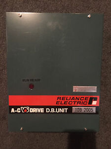 Reliance Electric 1db2005 A c Drive D b Unit