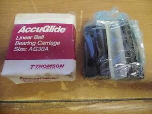 Accuglide Ag30a Linear Ball Bearing Carriage